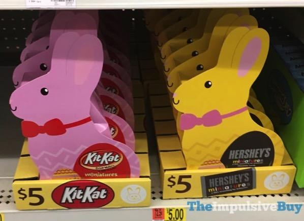 Kit Kat Miniatures and Hershey s Miniatures Mini Bunnies