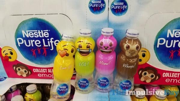 Nestle-Pure-Life-Water-Emoji-Bottles jpg - The Impulsive Buy
