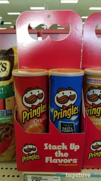 Pringles Stack Up the Flavors
