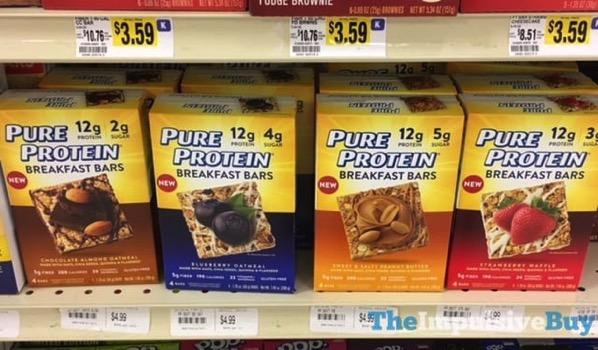 Pure Protein Breakfast Bars