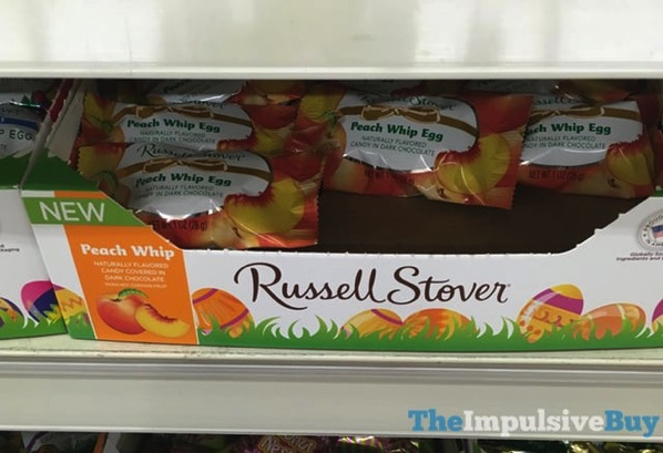 Russell Stover Peach Whip Egg