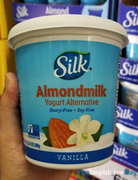 Silk Vanllla Almondmilk Yogurt Alternative