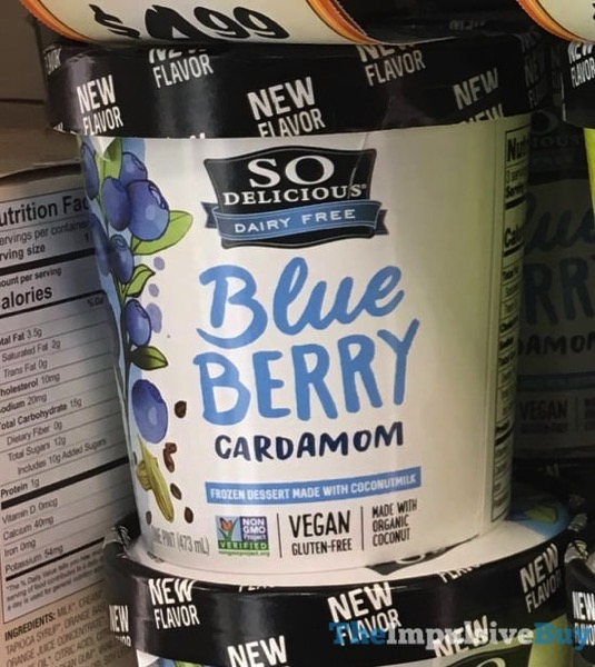 So Delicious Blue Berry Cardamom Frozen Dessert