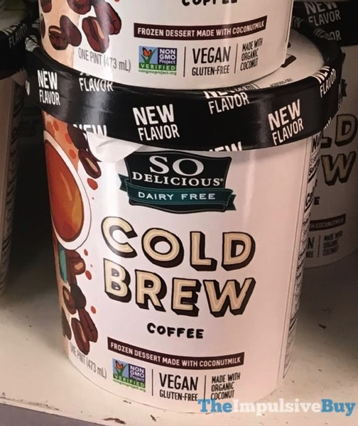 So Delicious Cold Brew Coffee Frozen Dessert