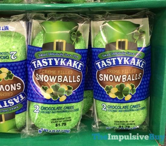 Tastykake St Patrick s Day Green Snowballs