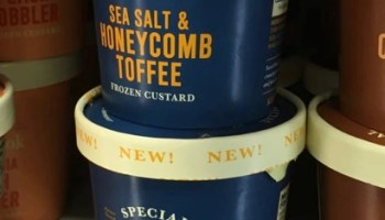 SPOTTED ON SHELVES Tillamook Special Batch Sea Salt Honeycomb Toffee Frozen Custard