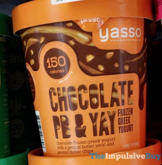 Yasso Chocolate PB  Yay Frozen Greek Yogurt