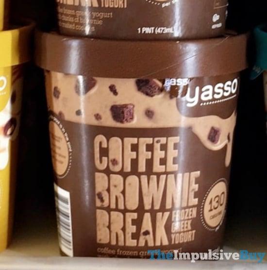Yasso Coffee Brownie Break Frozen Greek Yogurt