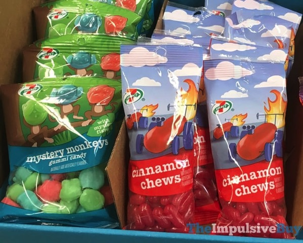 7 Select Mystery Monkeys Gummy Candy and Cinnamon Chews
