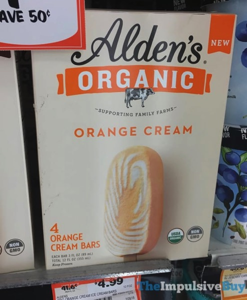 Alden s Organic Orange Cream Bars
