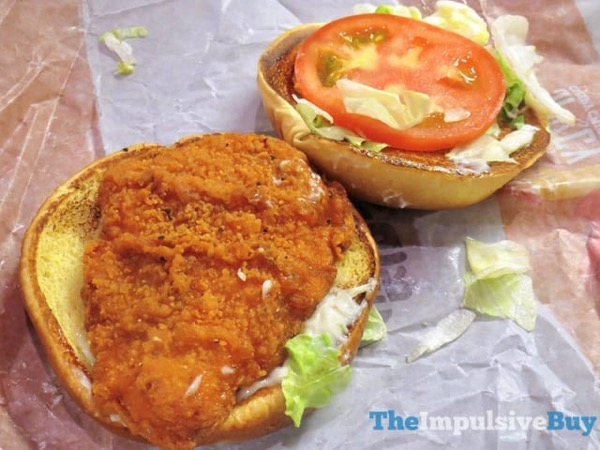 Burger King Spicy Crispy Chicken Sandwich 2