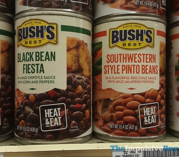 Bush s Best Black Bean Fiesta and Southwestern Style Pinto Beans
