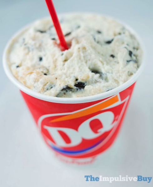 Dairy Queen Peanut Butter Cookie Dough Blizzard
