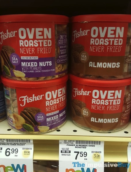 Fisher Oven Roasted Mixed Nuts and Almonds