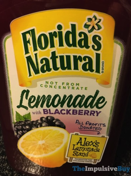 Florida s Natural Lemonade with Blackberry