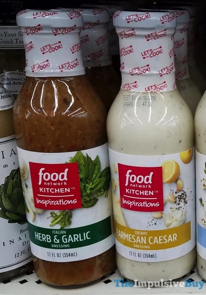 Food Network Kitchen Inspirations Dressing  Italian Herb  Garlic and Parmesan Caesar