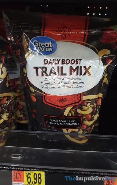 Great Value Daily Boost Trail Mix