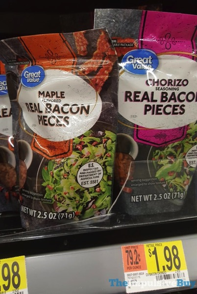 Great Value Maple and Chorizo Real Bacon Pieces