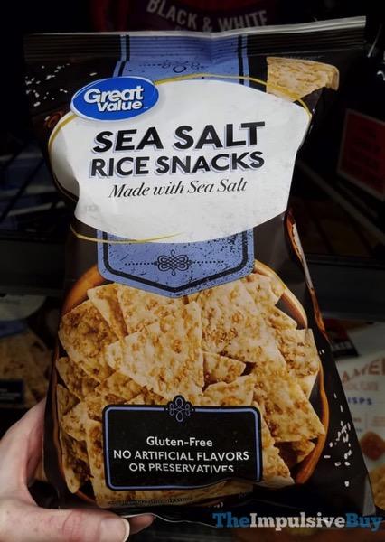 Great Value Sea Salt Rice Snacks