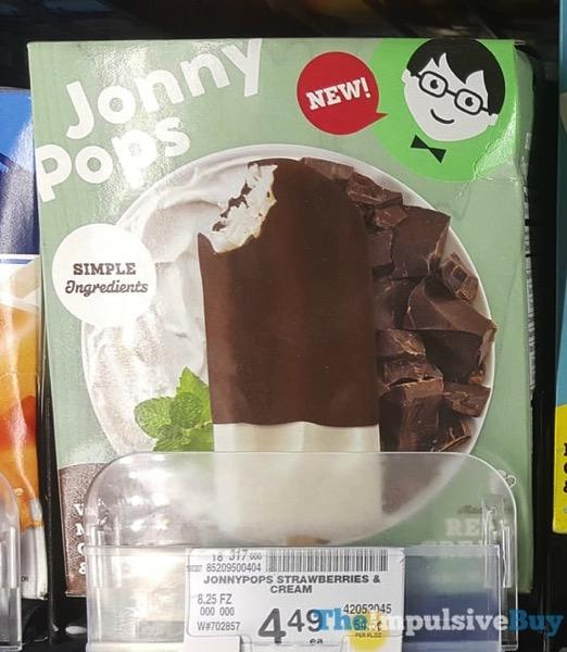 Jonnypops Vanilla Mint Chocolate  Cream
