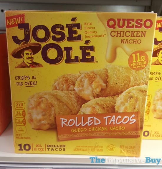 Jose Ole Queso Chicken Nacho Rolled Tacos