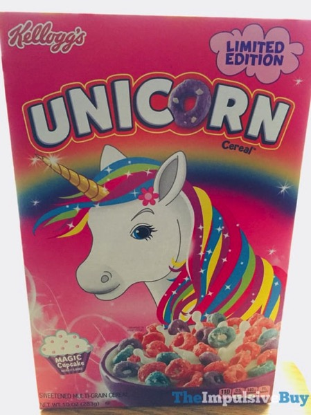 Kellogg s Limited Edition Unicorn Cereal