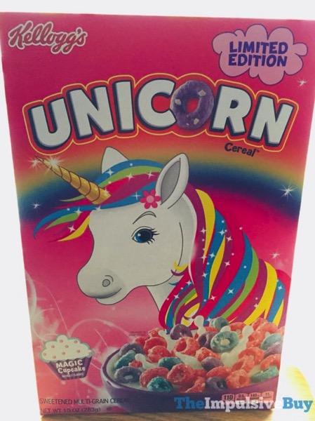 Kellogg s Limited Edition Unicorn Cereal