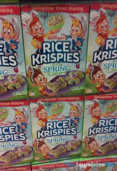 Kellogg s Rice Krispies with Spring Colors