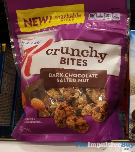 Kellogg s Special K Crunchy Bites Dark Chocolate Salted Nut