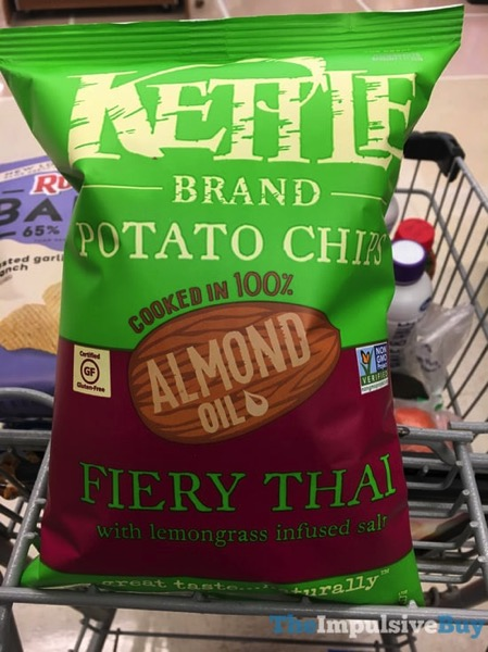 Kettle Brand Cooked in Almond Oil Fiery Thai Potato Chips