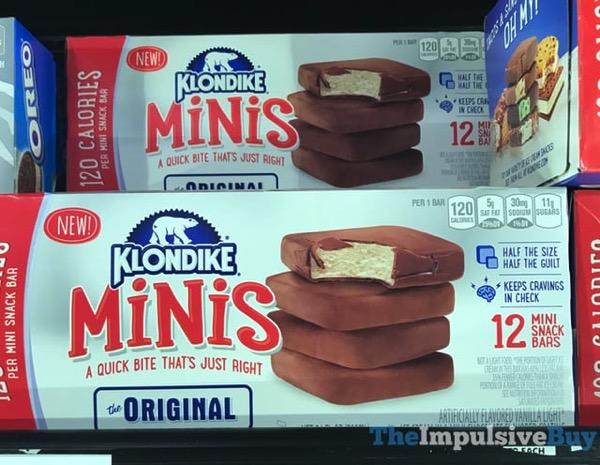 Klondike Minis Original Snack Bars