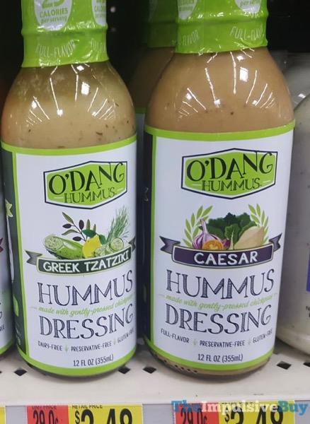 O Dang Hummus Dressing  Greek Tzatziki and Caesar