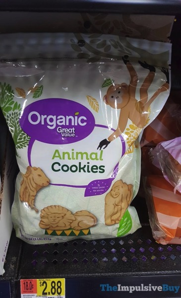 Organic Great Value Animal Cookies