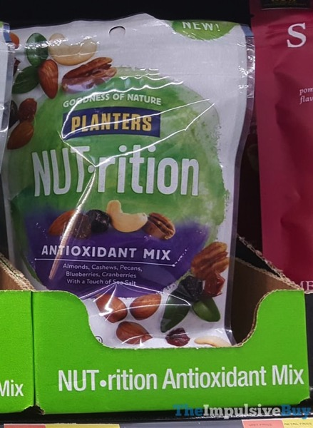 Planters NUT rition Antioxidant Mix  2018