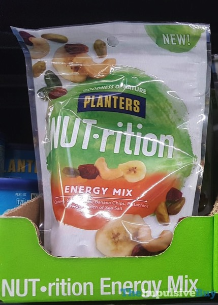 Planters NUT rition Energy Mix  2018