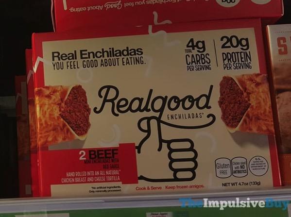 Realgood Beef Enchiladas