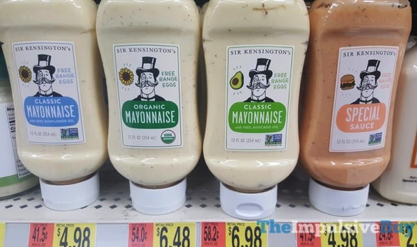 Sir Kensington s Mayonnaise  Classic Organic and Avocado Oil and Special Sauce