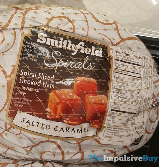 Smithfield Spirals Salted Caramel Spiral Sliced Smoked Ham