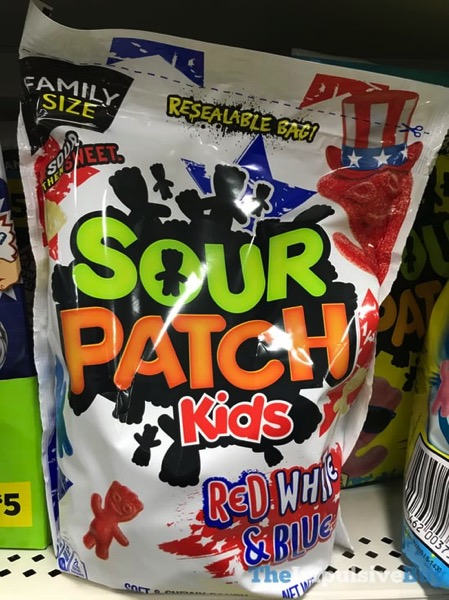 Sour Patch Kids Red White  Blue