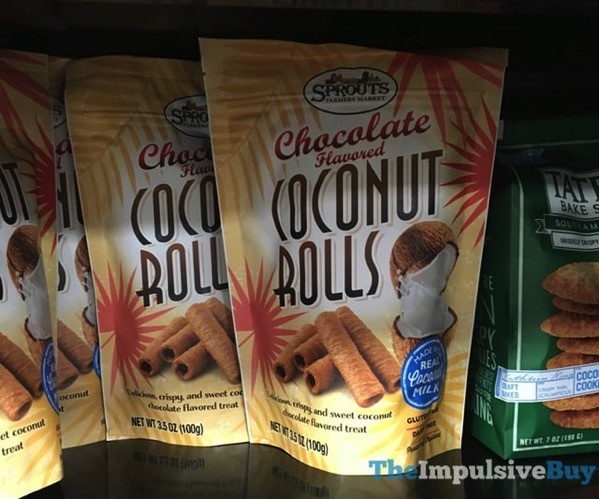 Sprouts Chocolate Flavored Coconut Rolls
