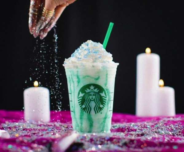 Starbucks Crystal Ball Frappuccino