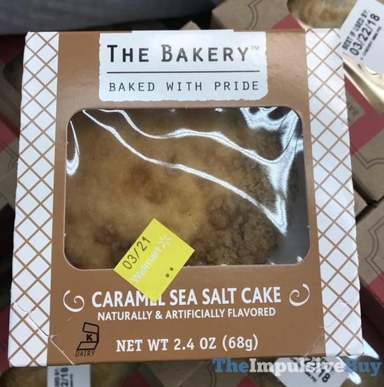 The Bakery Caramel Sea Salt Cake