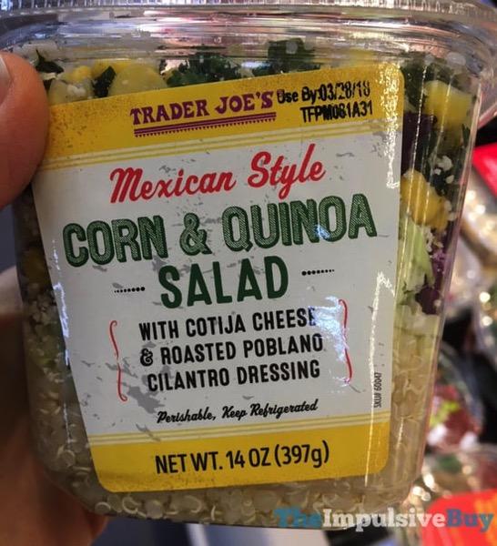 Trader Joe s Mexican Style Corn  Quinoa Salad