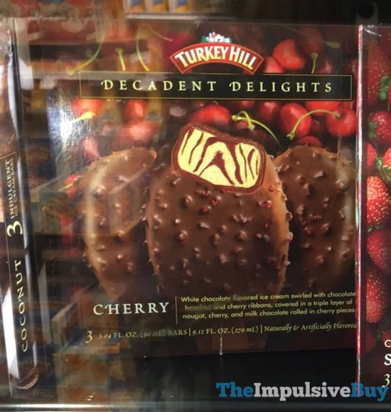 Turkey Hill Decadent Delights Cherry Bars