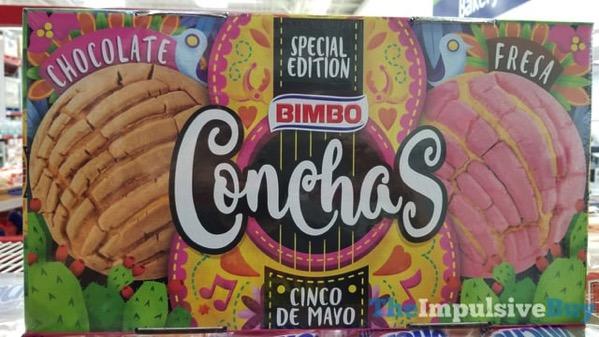 Bimbo Cinco De Mayo Special Edition Conchas