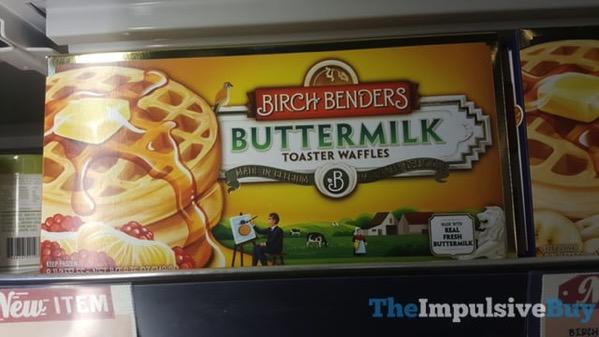 Birch Benders Buttermilk Toaster Waffles