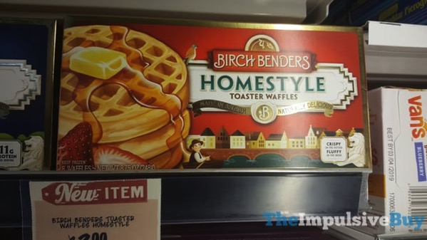 Birch Benders Homestyle Toaster Waffles