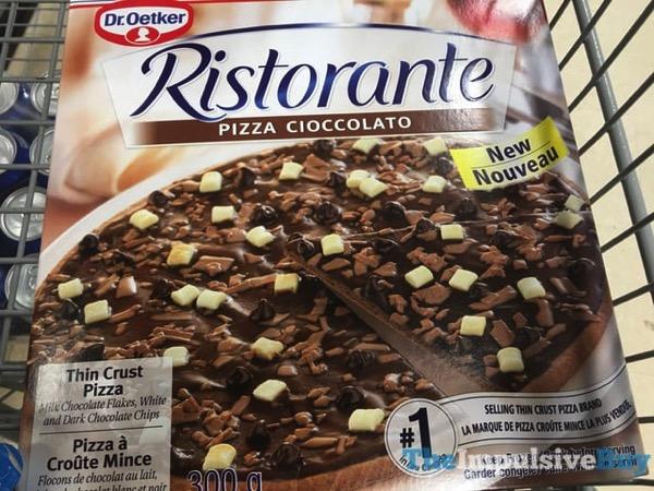 Dr Oetker Ristorante PIzza Cioccolato