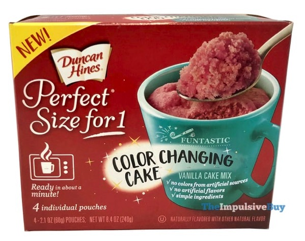 Duncan Hines Funtastic Color Changing Vanilla Cake Mix copy