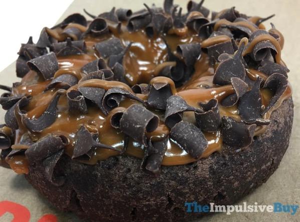 Dunkin Donuts Chocoholic Caramel Donut 2
